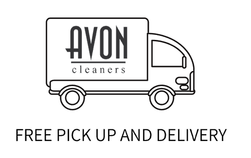 acon cleaners free pick up and delivery logo