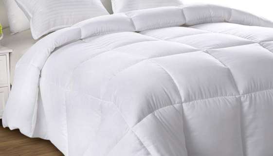 dry cleaned bedding